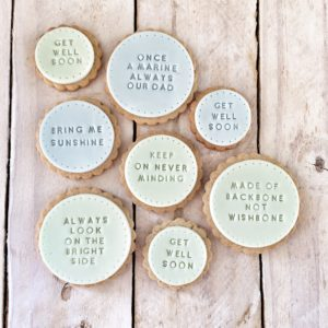 Bespoke biscuits made to order