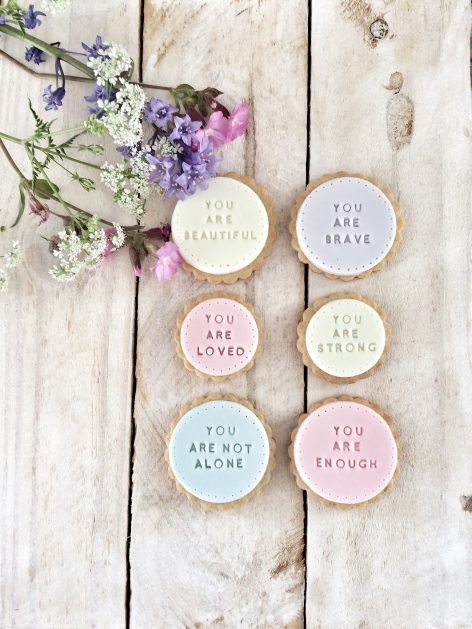 The 'You Are Loved' biscuits
